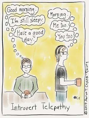 Introvert toon